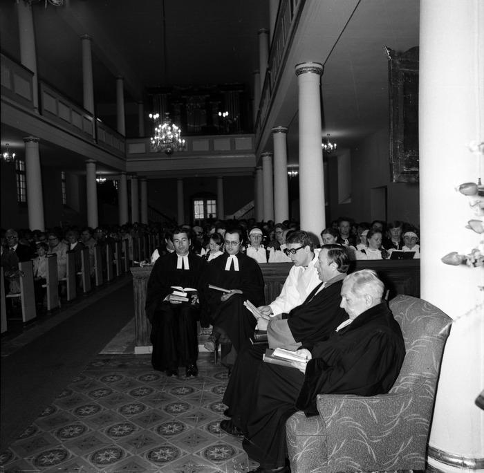 Nabożeństwo w kościele ewangelickim [10]