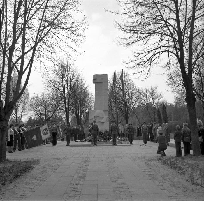 Uroczystość odsłonięcia pomnika żołnierzy radzieckich [43]