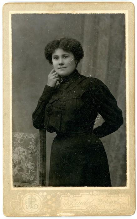 Stefania Falkowska, ok. 1905 r.