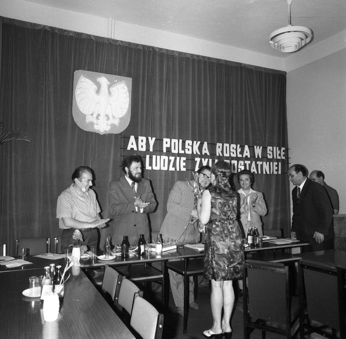 Uroczysta Sesja Miejskiej Rady Narodowej, 1975 r. [3]
