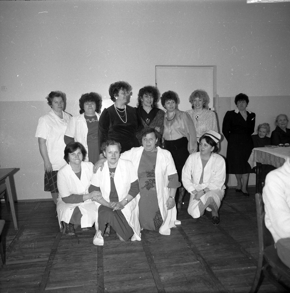 Uroczystość w Domu Pomocy Społecznej, 1988 r.