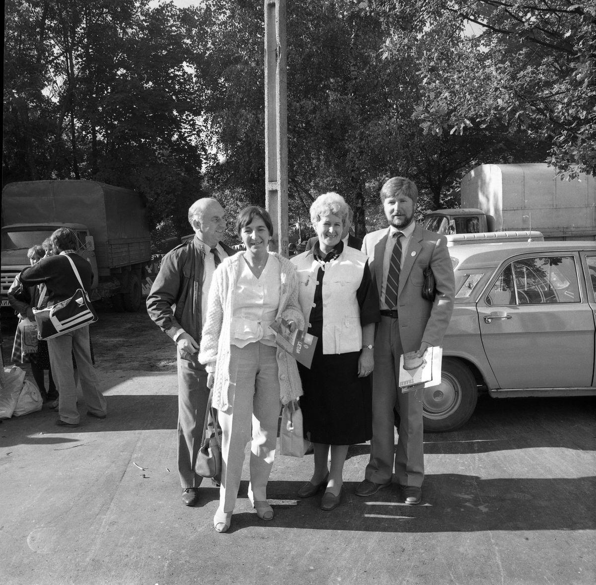 Wizyta delegacji z Giżycka w Trokach, 1987 r. [3]
