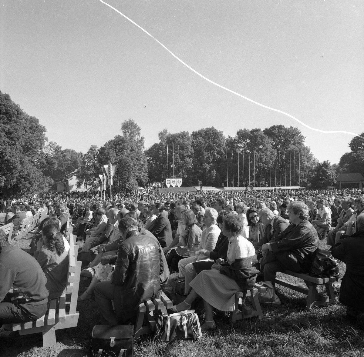 Wizyta delegacji z Giżycka w Trokach, 1987 r. [6]