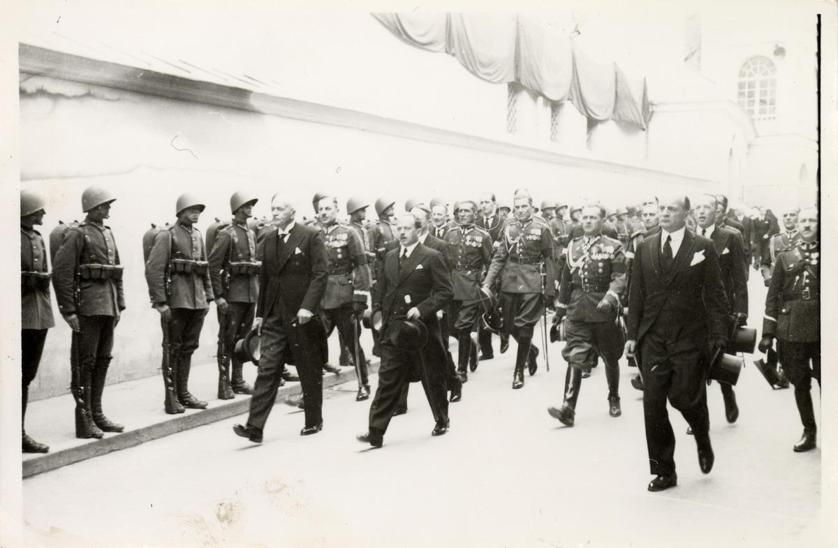 Pogrzeb serca Józefa Piłsudskiego w Wilnie [7]