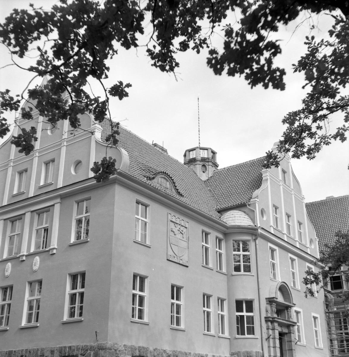 Południowa fasada Urzędu Miejskiego [1]