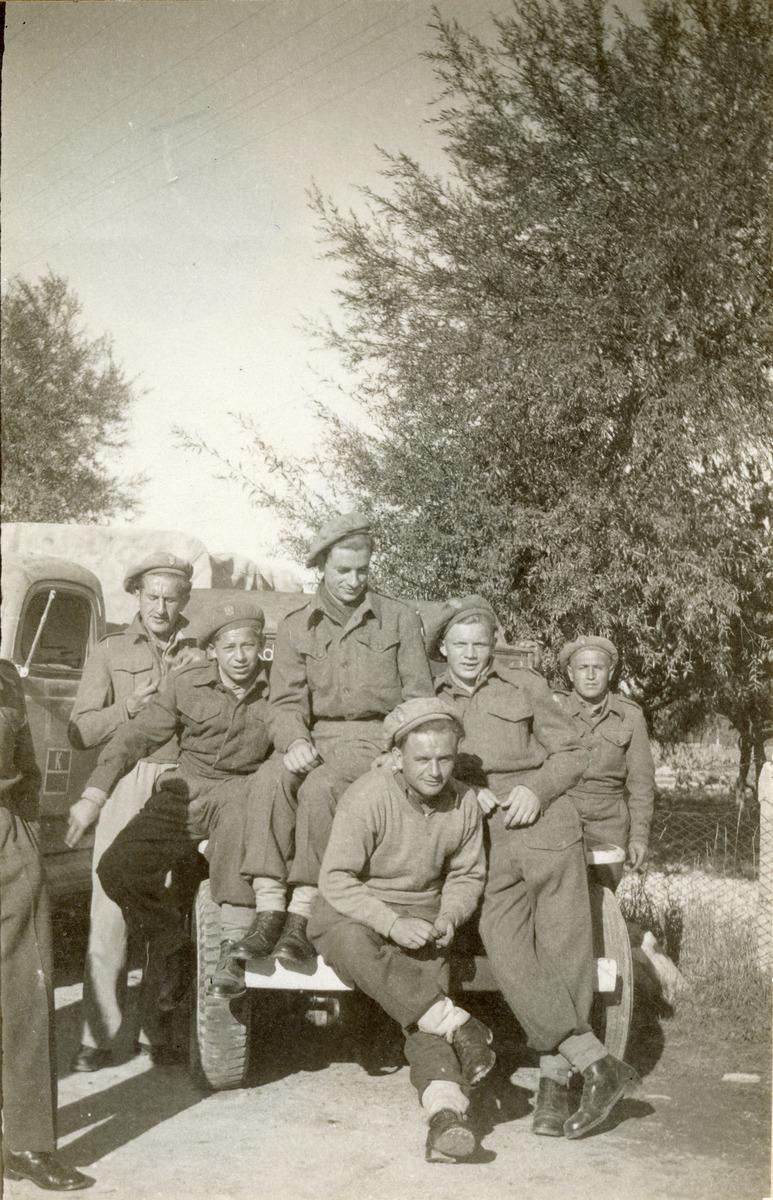Żołnierze 3. Dywizji Strzelców Karpackich we Włoszech [4]