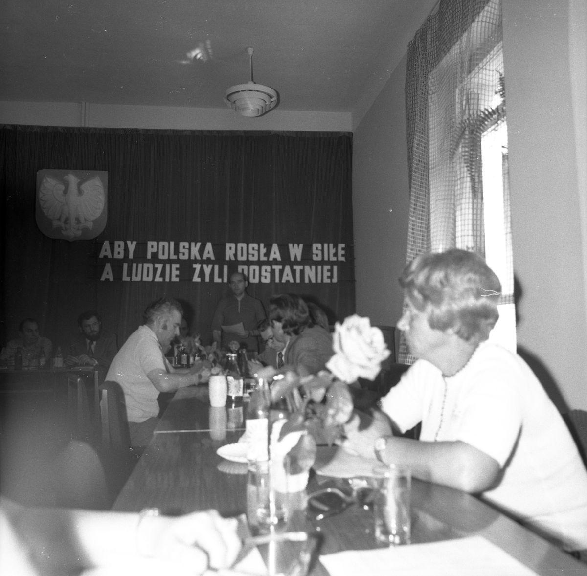 Uroczysta Sesja Miejskiej Rady Narodowej, 1975 r. [6]