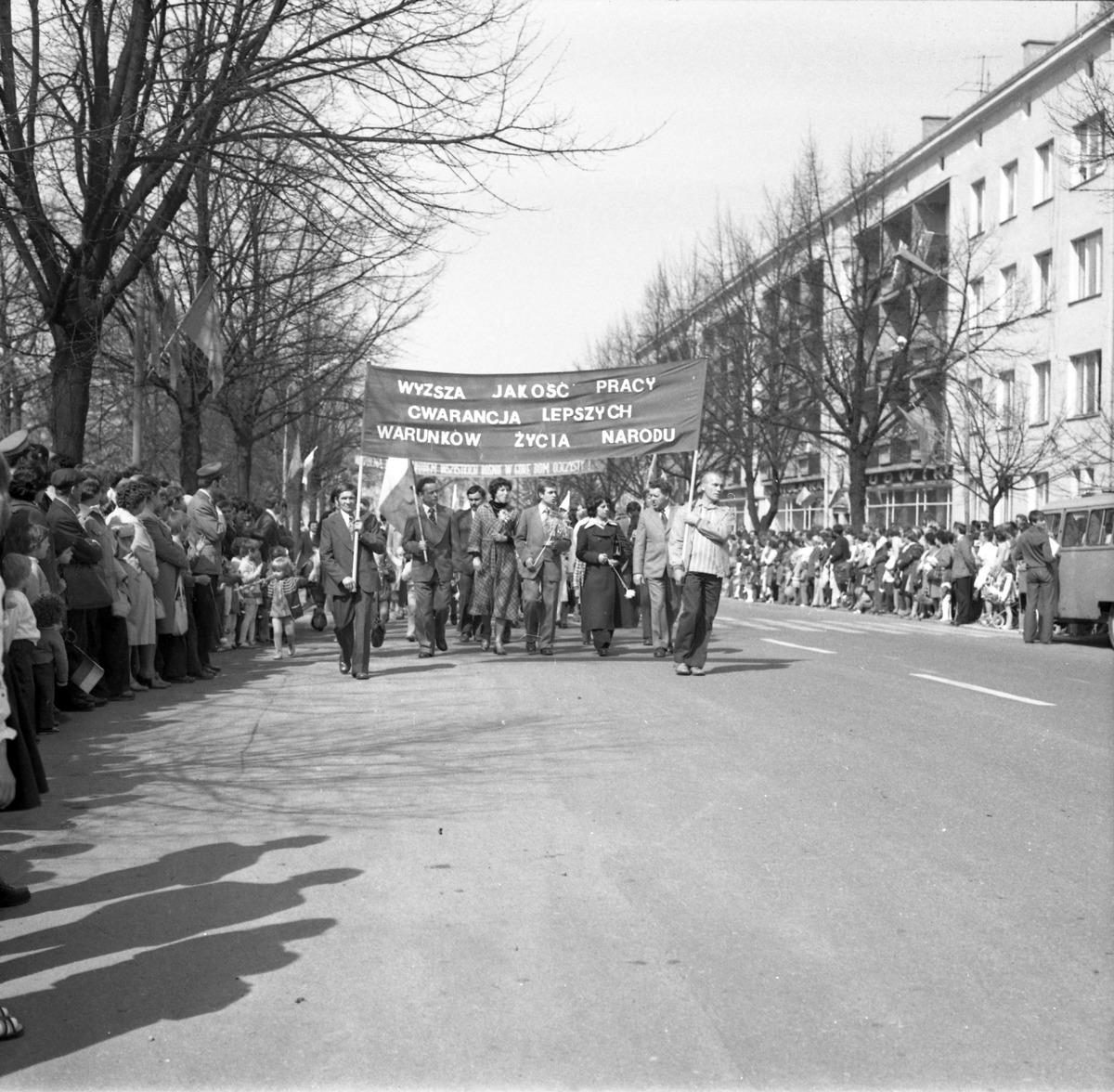 Święto Pracy, 1977 r.