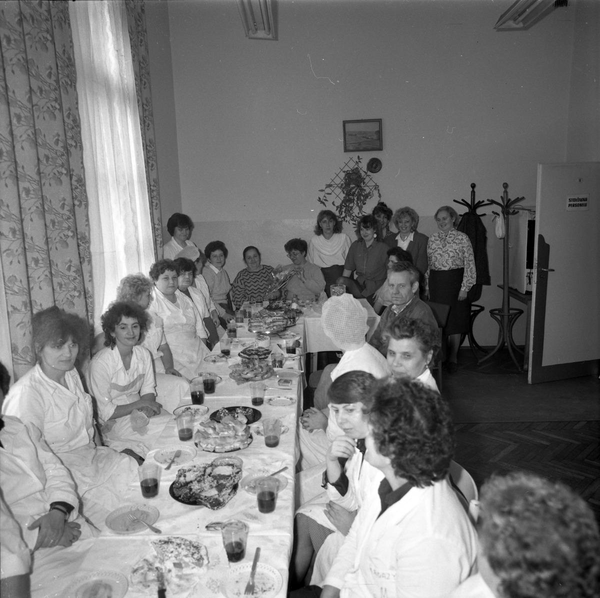 Uroczystość w DPS w Giżycku, 1991 r. [6]