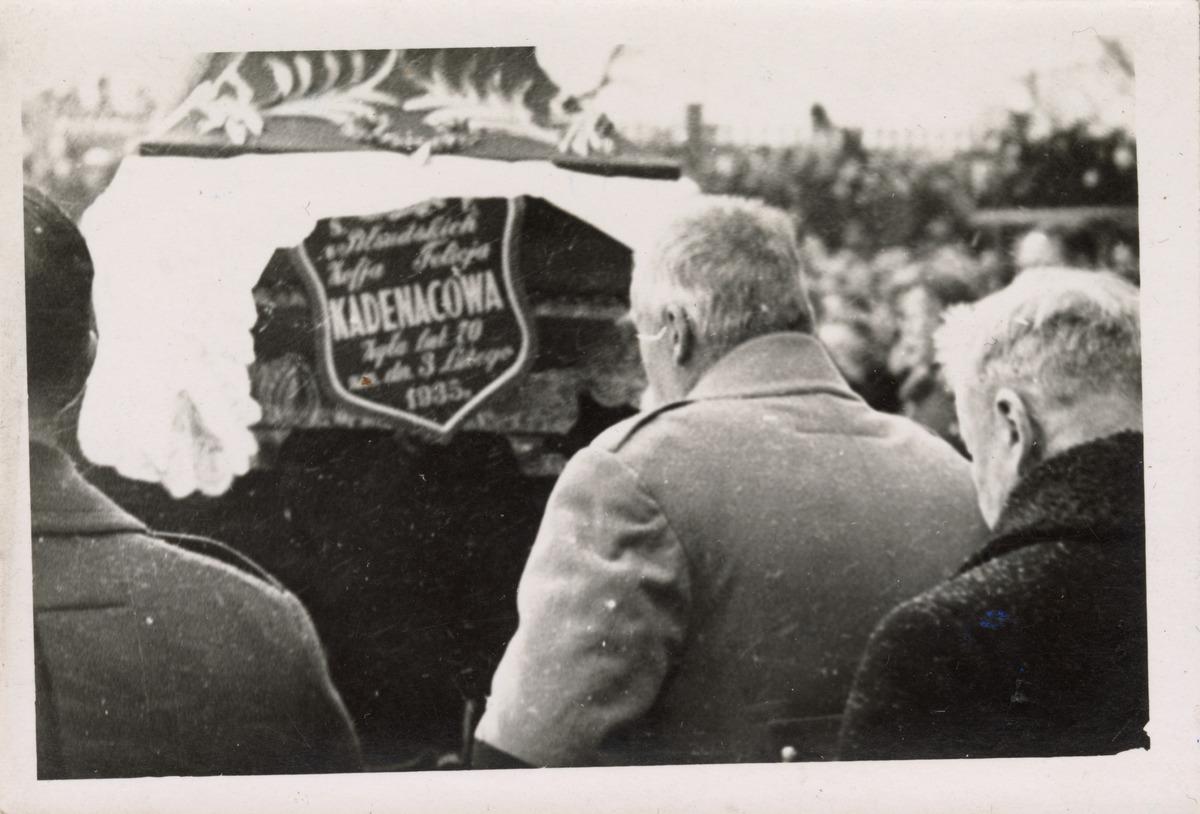 Pogrzeb Zofii Kadenacowej dd Piłsudskiej