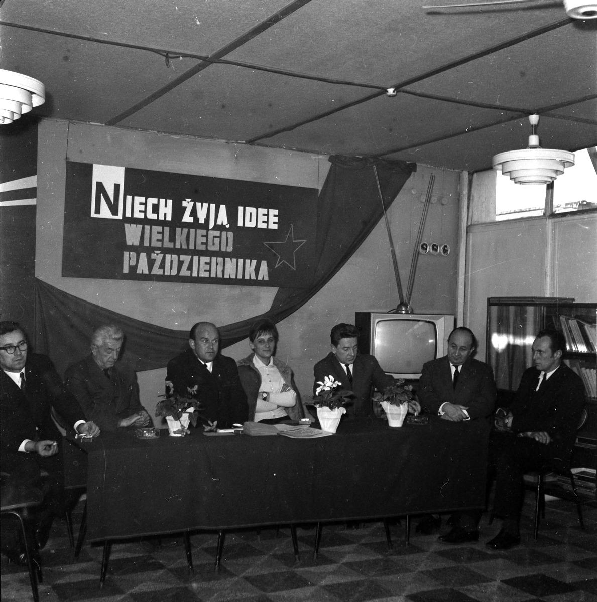 Obchody 50 rocznicy Rewolucji Październikowej w MZP [7]