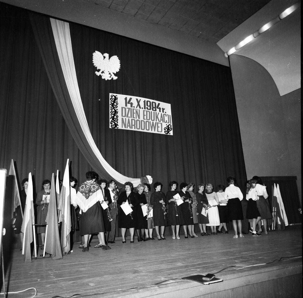 Dzień Edukacji Narodowej, 1984 r.