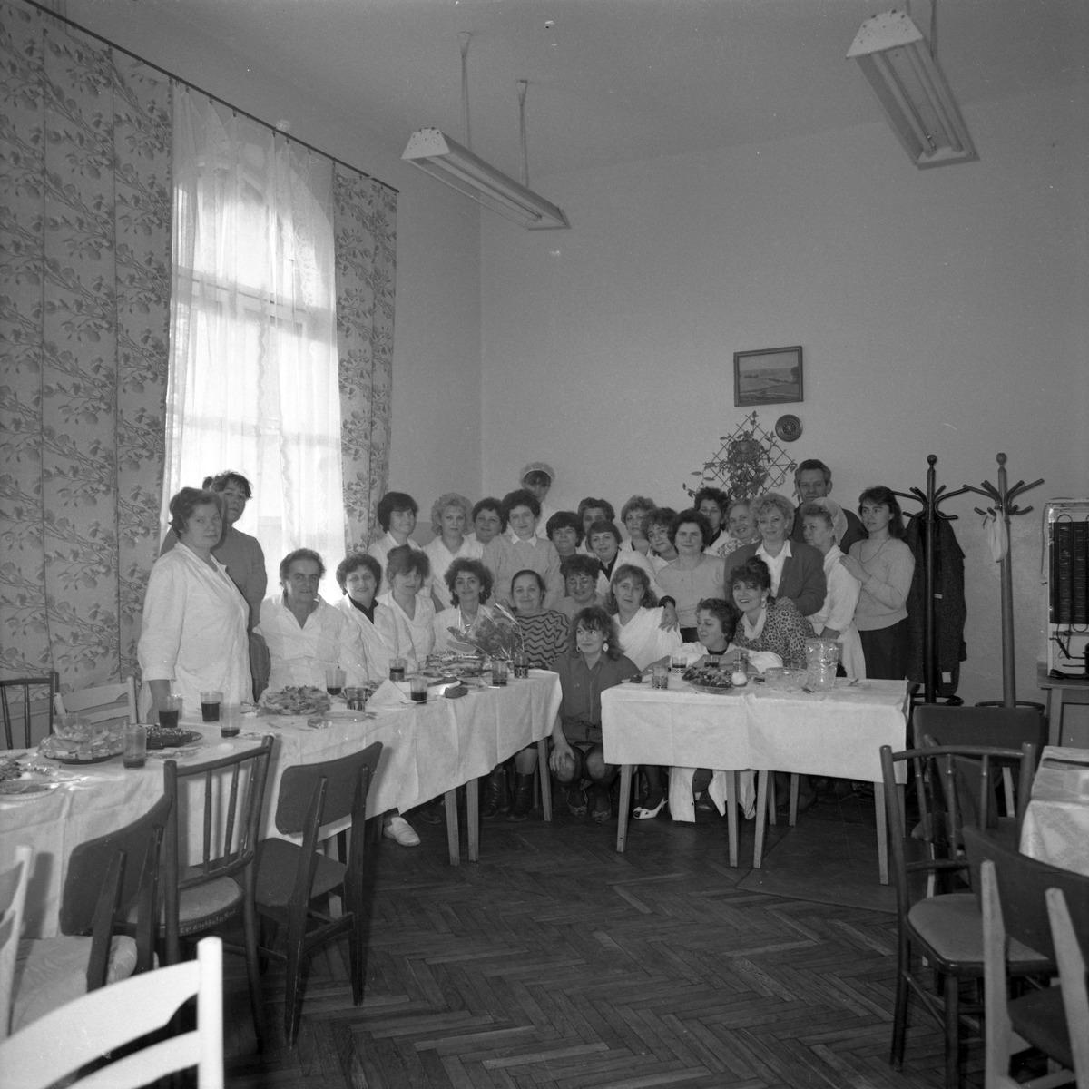 Uroczystość w DPS w Giżycku, 1991 r. [5]