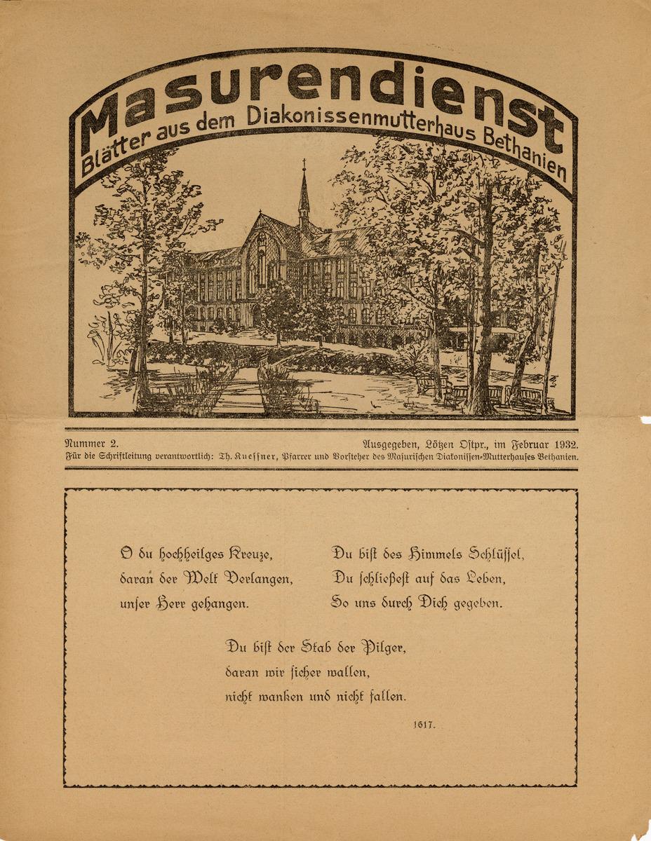 Masurendienst - Februar 1932