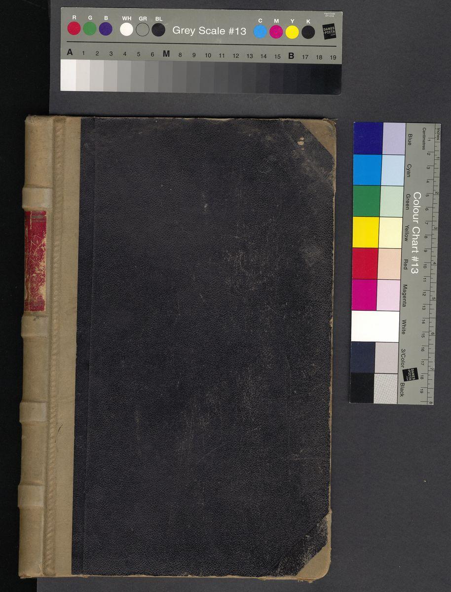Księga protokołów z posiedzeń Rady w latach 1906-1921