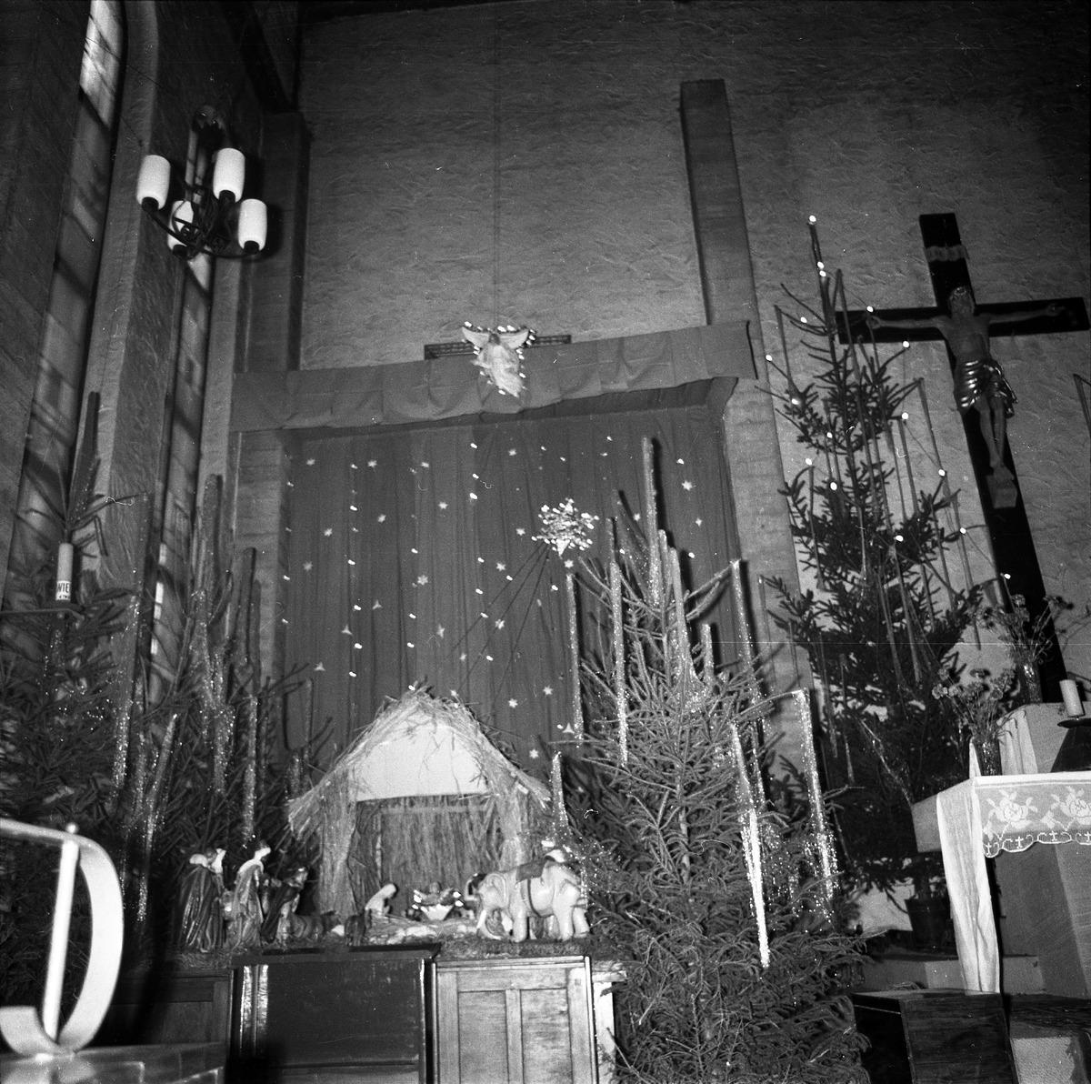 Szopka Bożonarodzeniowa w kościele św. Brunona, 1970 r. [3]