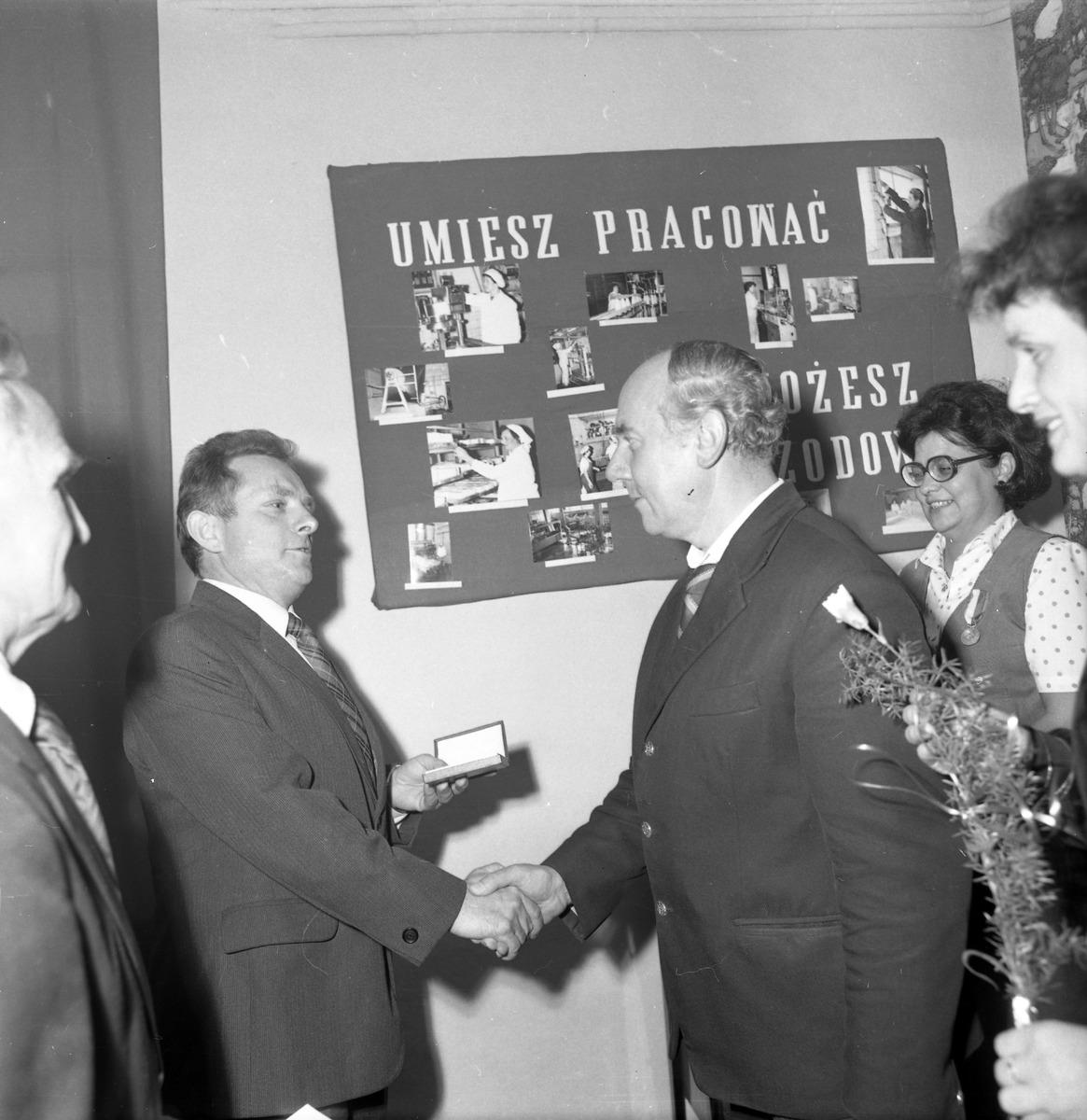 Spotkanie jubileuszowe w Mleczarni, 1985 r. [8]