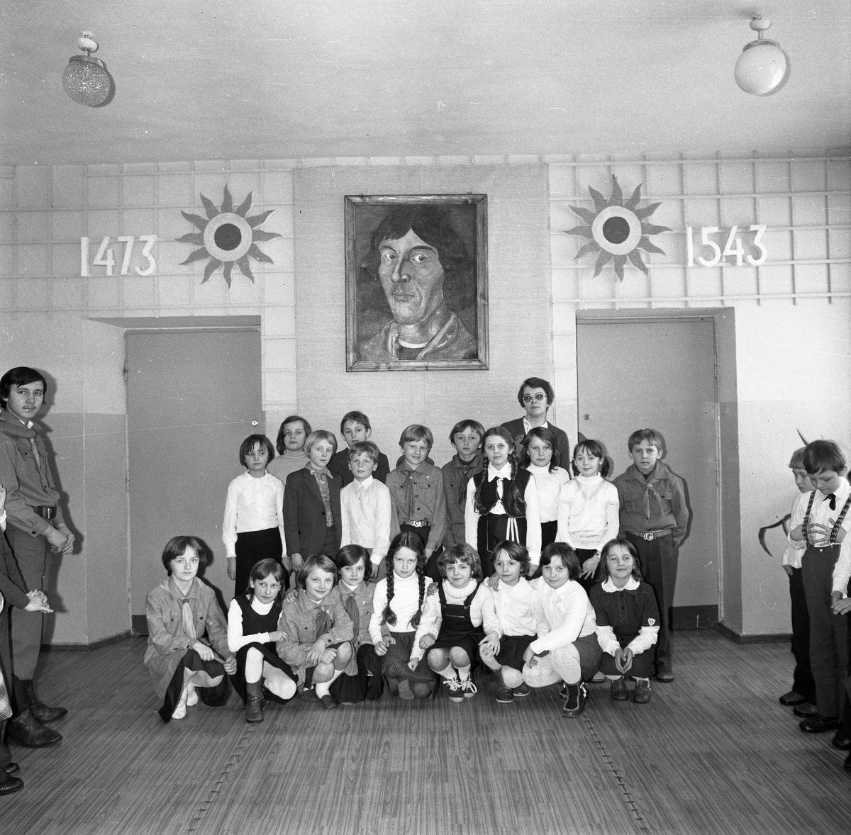 Zakończenie roku szkolnego 1979/1980 w SP3