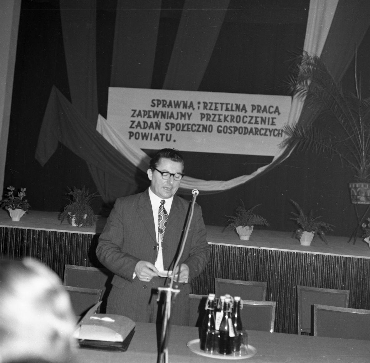 Spotkanie partyjne, 1974 r. [9]