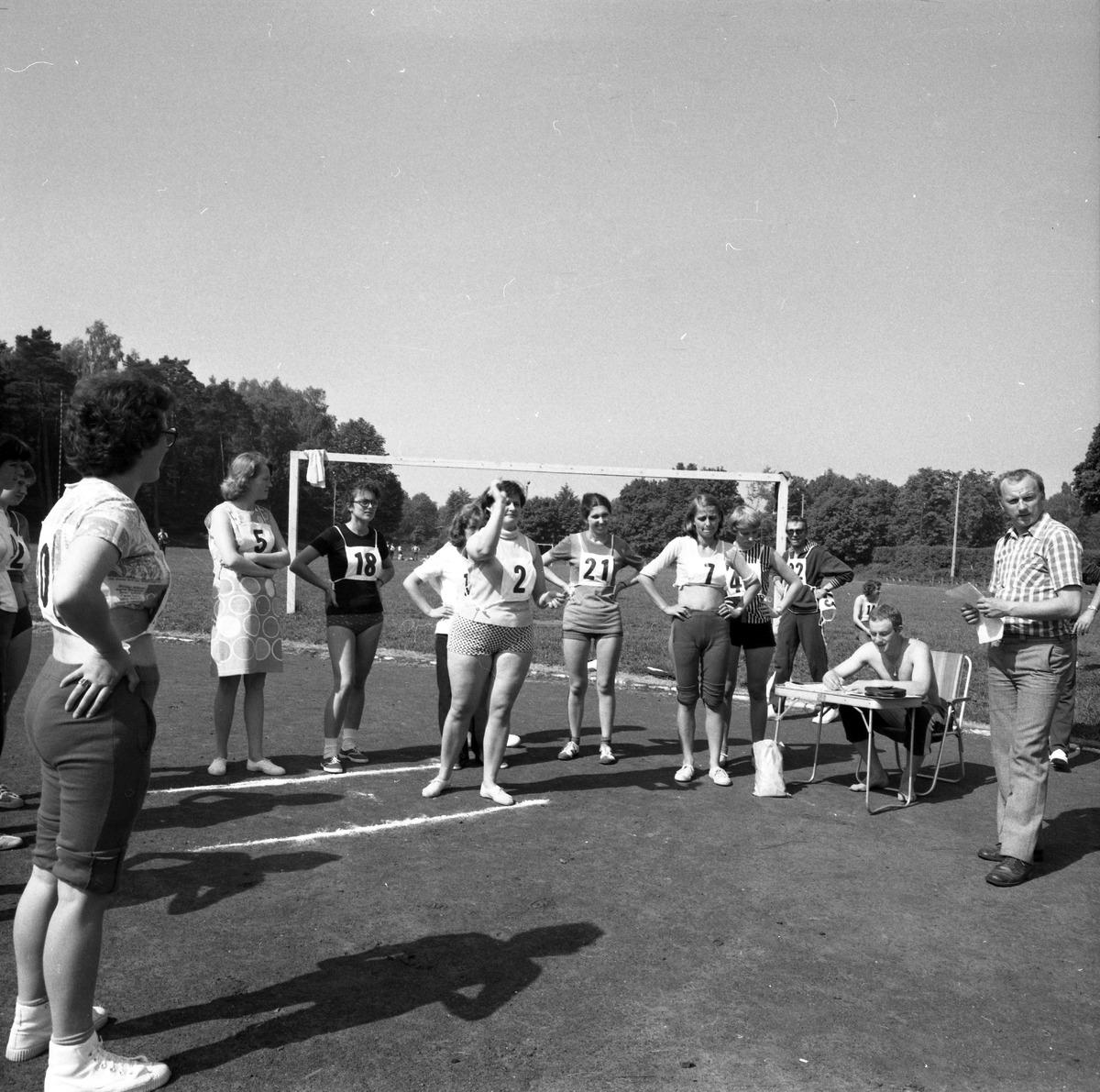 Zawody sportowe pracowników, 1977 r.