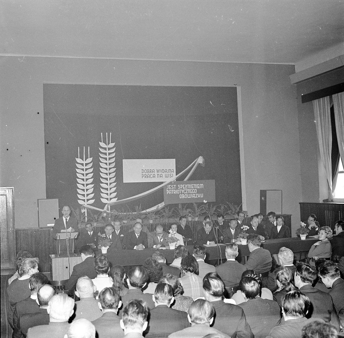 Zjazd przodowników produkcji rolnej, 1971 r.