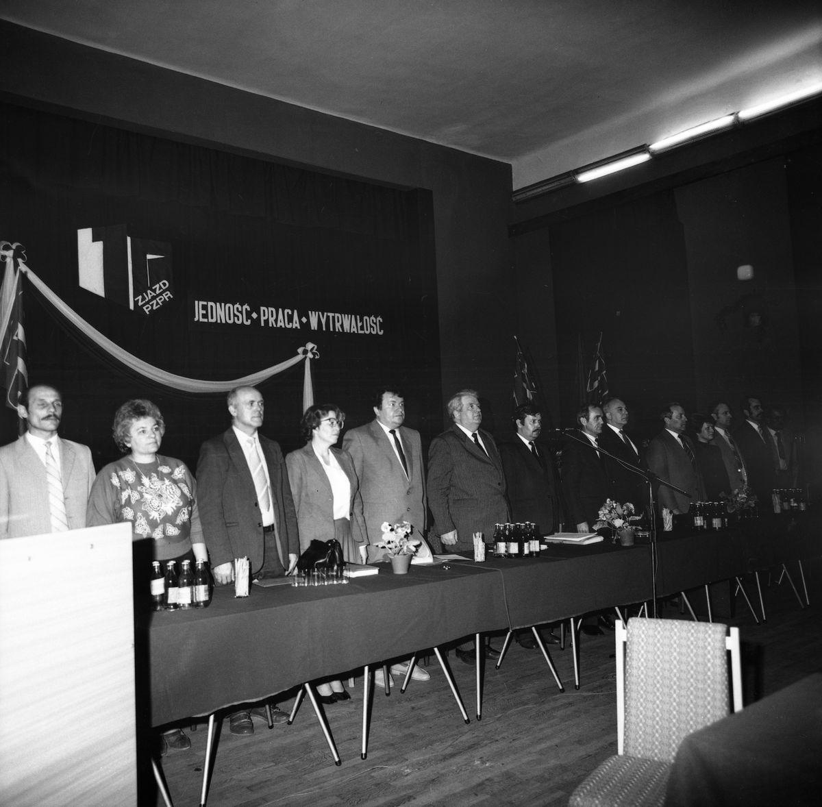 Lokalny zjazd PZPR, 1986 r.