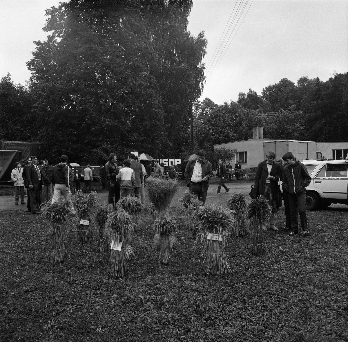25-lecie PGR w Giżycku, 1985 r.