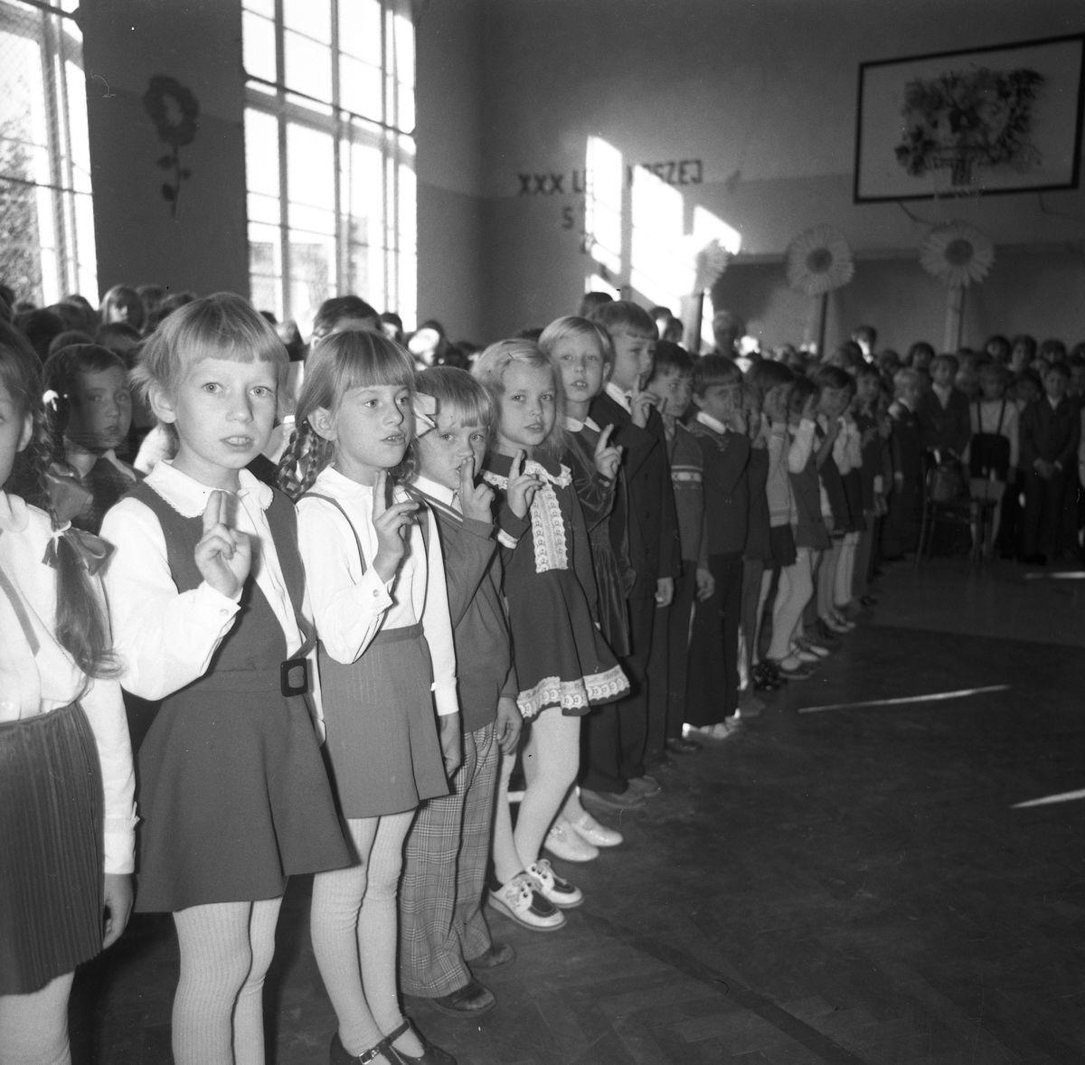 30-lecie Szkoły Podstawowej nr 1, 1975 r.