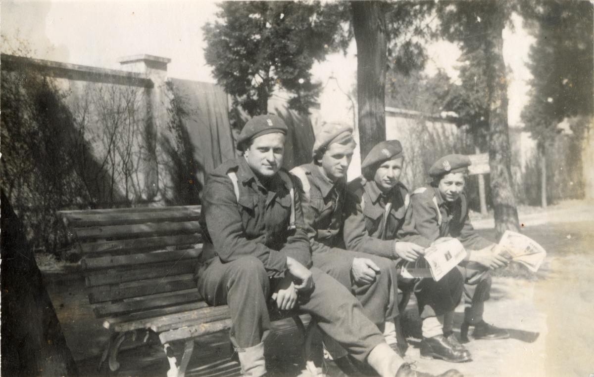 Żołnierze 3. Dywizji Strzelców Karpackich we Włoszech [8]