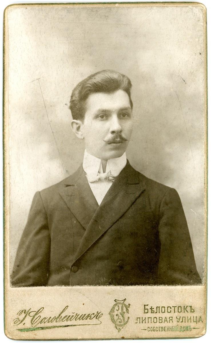 Aleksander Falkowski, ok. 1905 r.