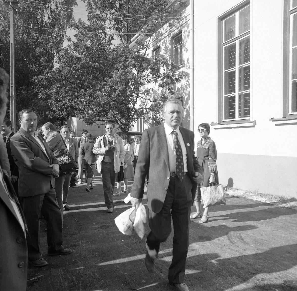 Wizyta delegacji z Giżycka w Trokach, 1987 r. [2]