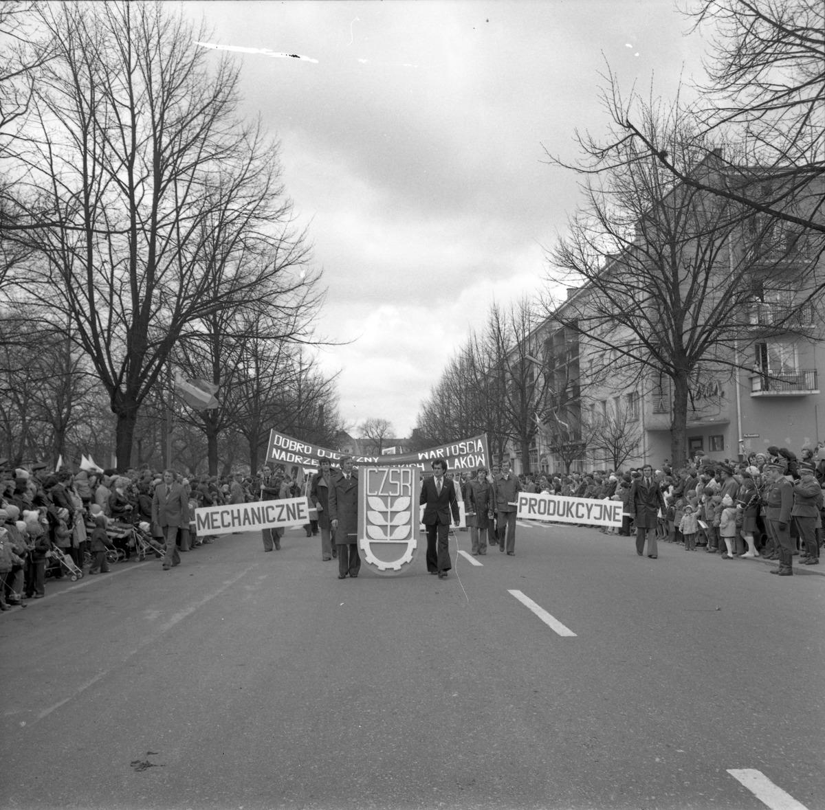 Pochód pierwszomajowy, 1979 r. [6]