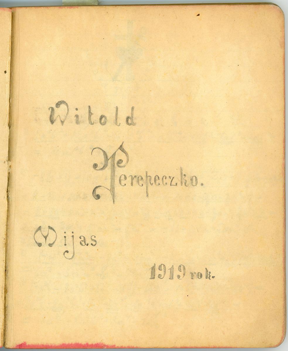 Dziennik wyprawy na Syberię<br /><br /> Miass 10.04. - 7.06.1919 r.