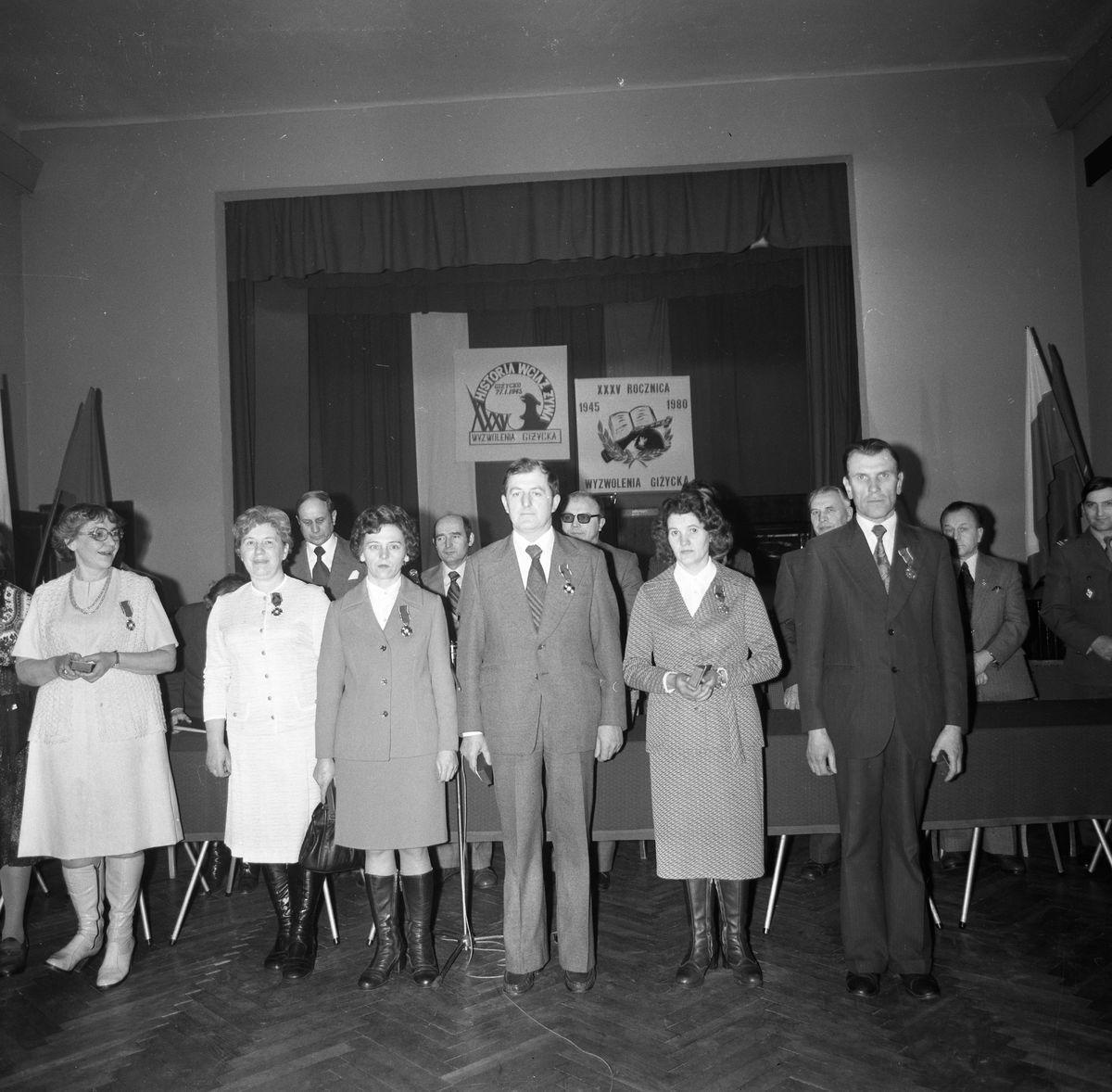 35. rocznica wyzwolenia Giżycka, 1980 r.
