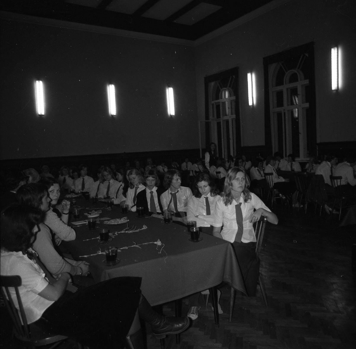 Spotkanie członków Związku Młodzieży Socjalistycznej, 1975 r.