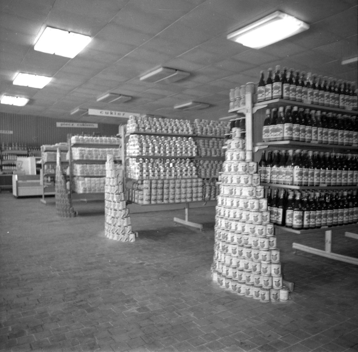 """Otwarcie sklepu PSS """"Społem"""", 1977 r."""