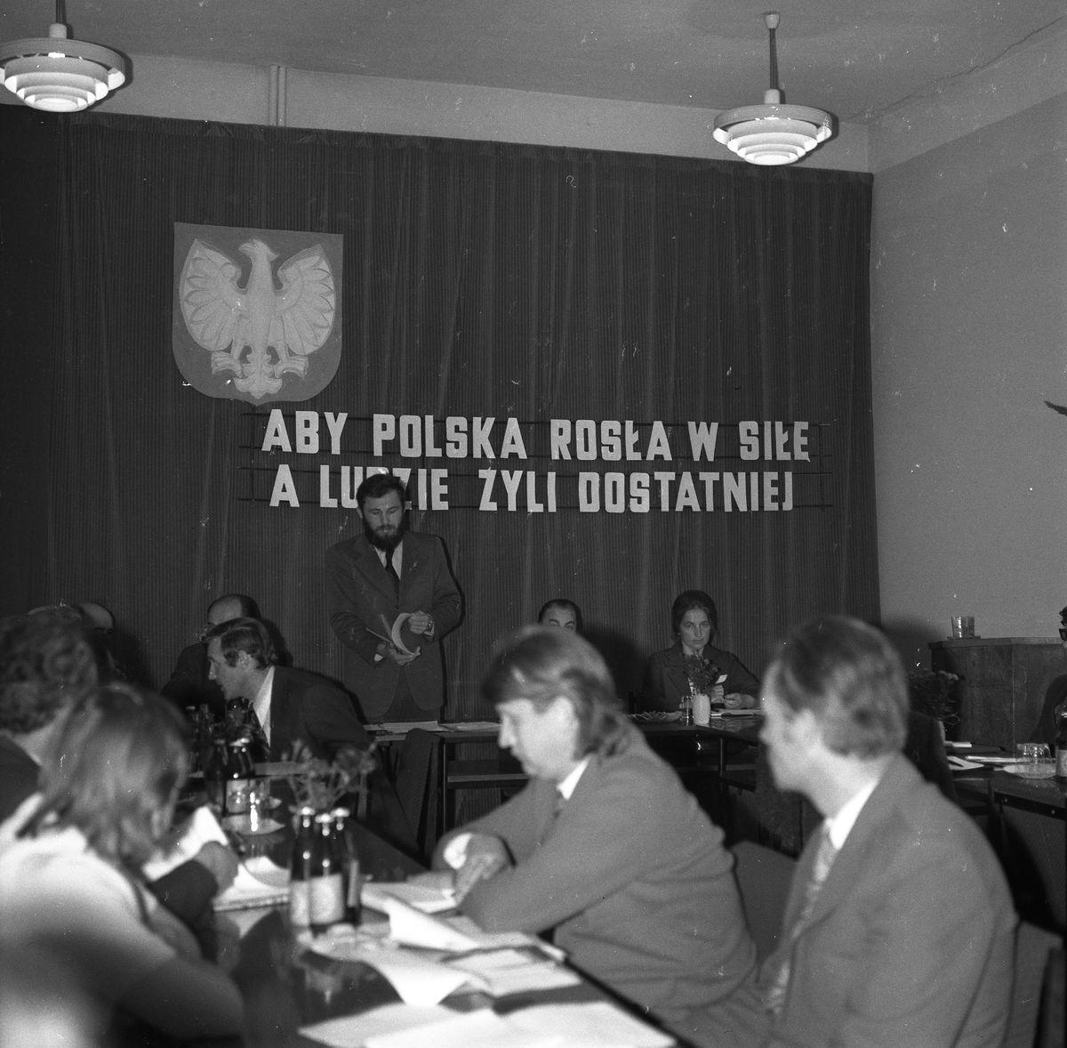 Sesja Miejskiej Rady Narodowej, 1974 r.