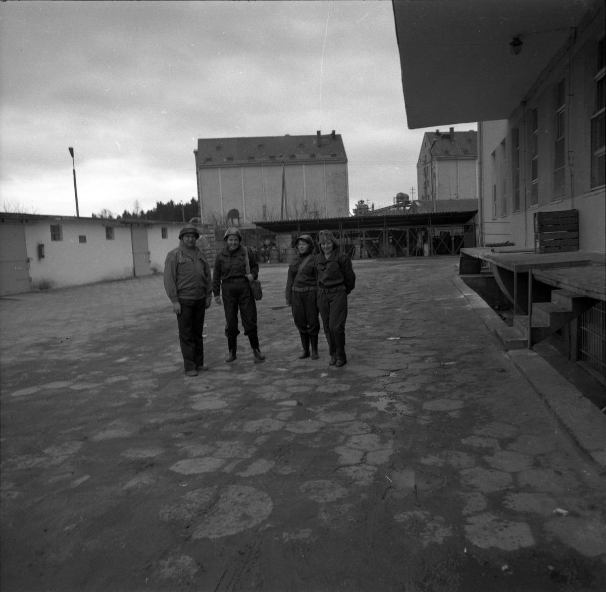 Ćwiczenia obrony cywilnej w WWC, 1977 r.