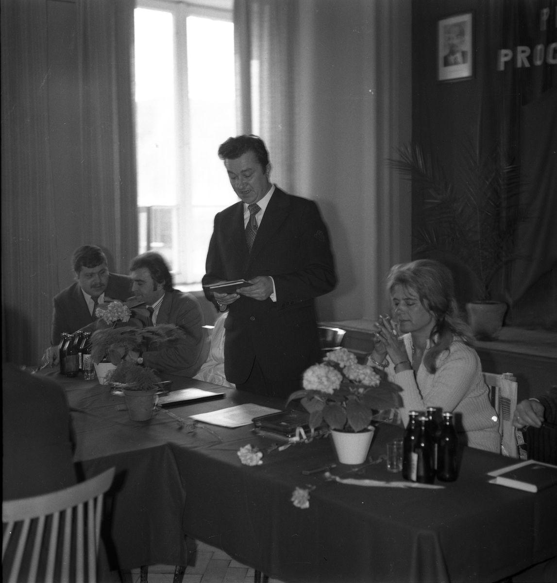 Zebranie partyjne PZPR w Zakładach Rybnych, 1975 r. [4]