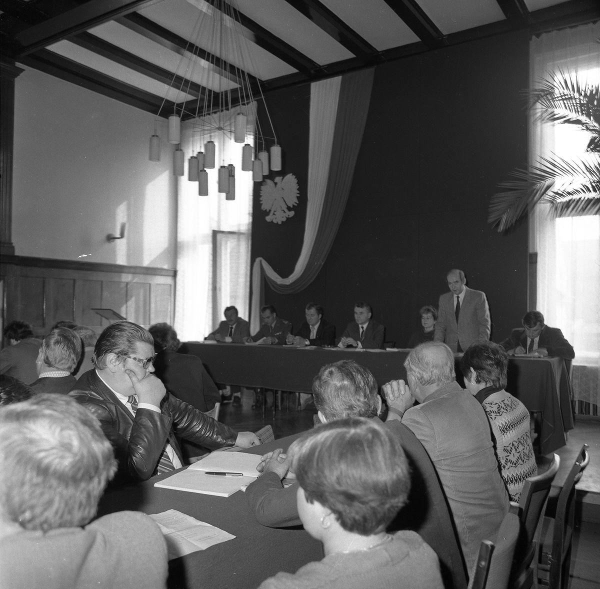 Sesja Miejskiej Rady Narodowej, 1984 r.