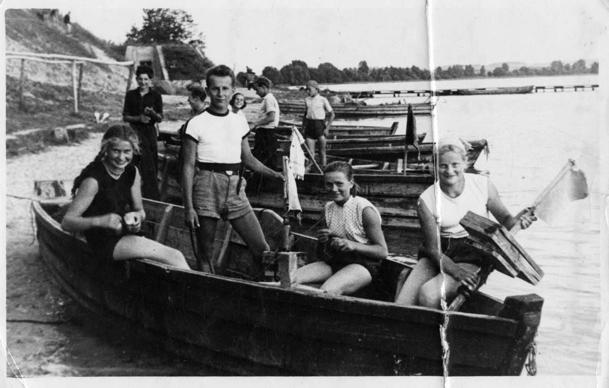 Uczniowie Państwowego Technikum Rybackiego w Giżycku [1]
