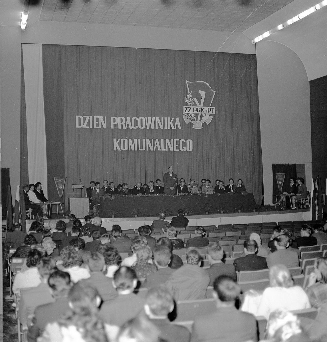 Dzień Pracownika Komunalnego, 1972 r.