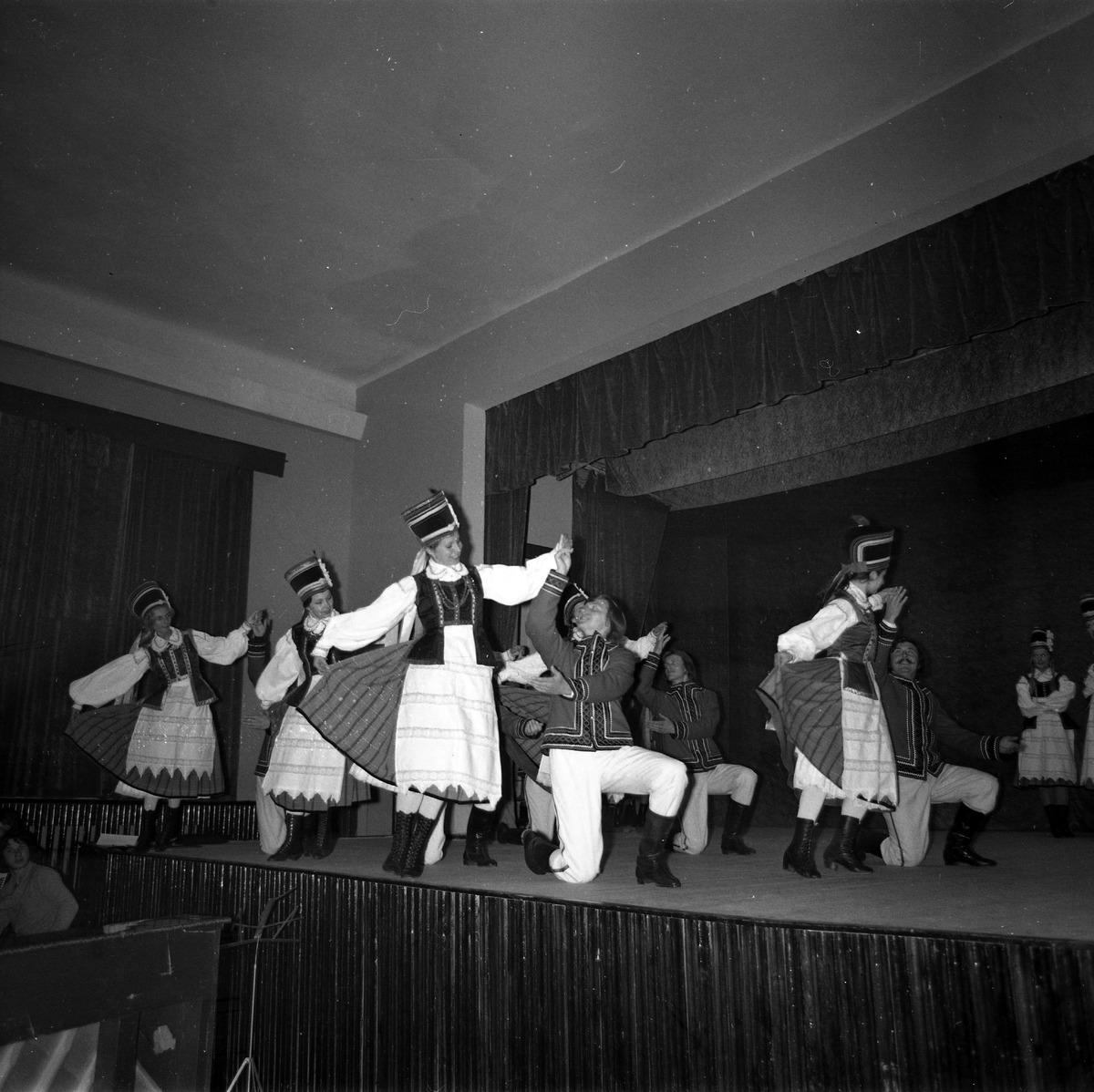 Prezentacja Zespołu w MDK, 1976 r,