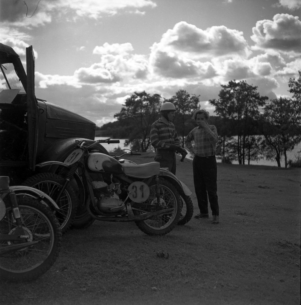 Zawody motocrossowe, 1964 r. [5]