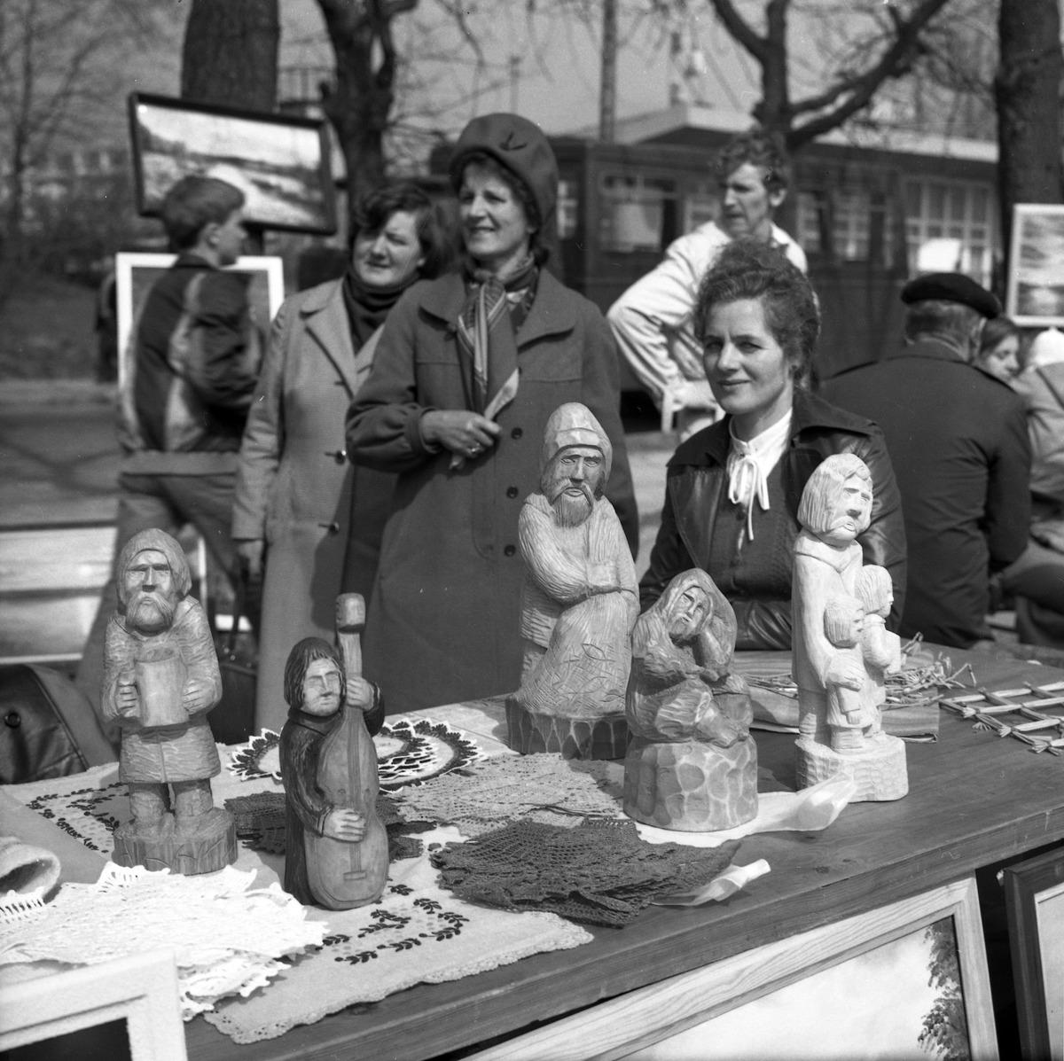 Święto Wiosny w Węgorzewie, 1980 r.