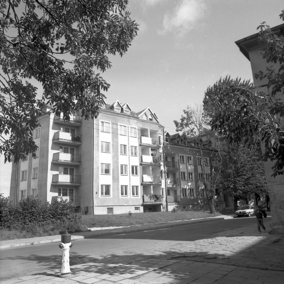 Blok mieszkalny przy ul. 3 Maja