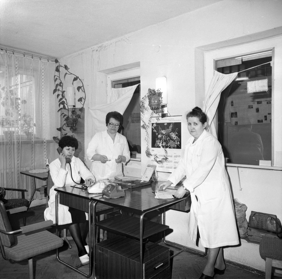 Dzień Służby Zdrowia w szpitalu ZOZ, 1986 r. [3]