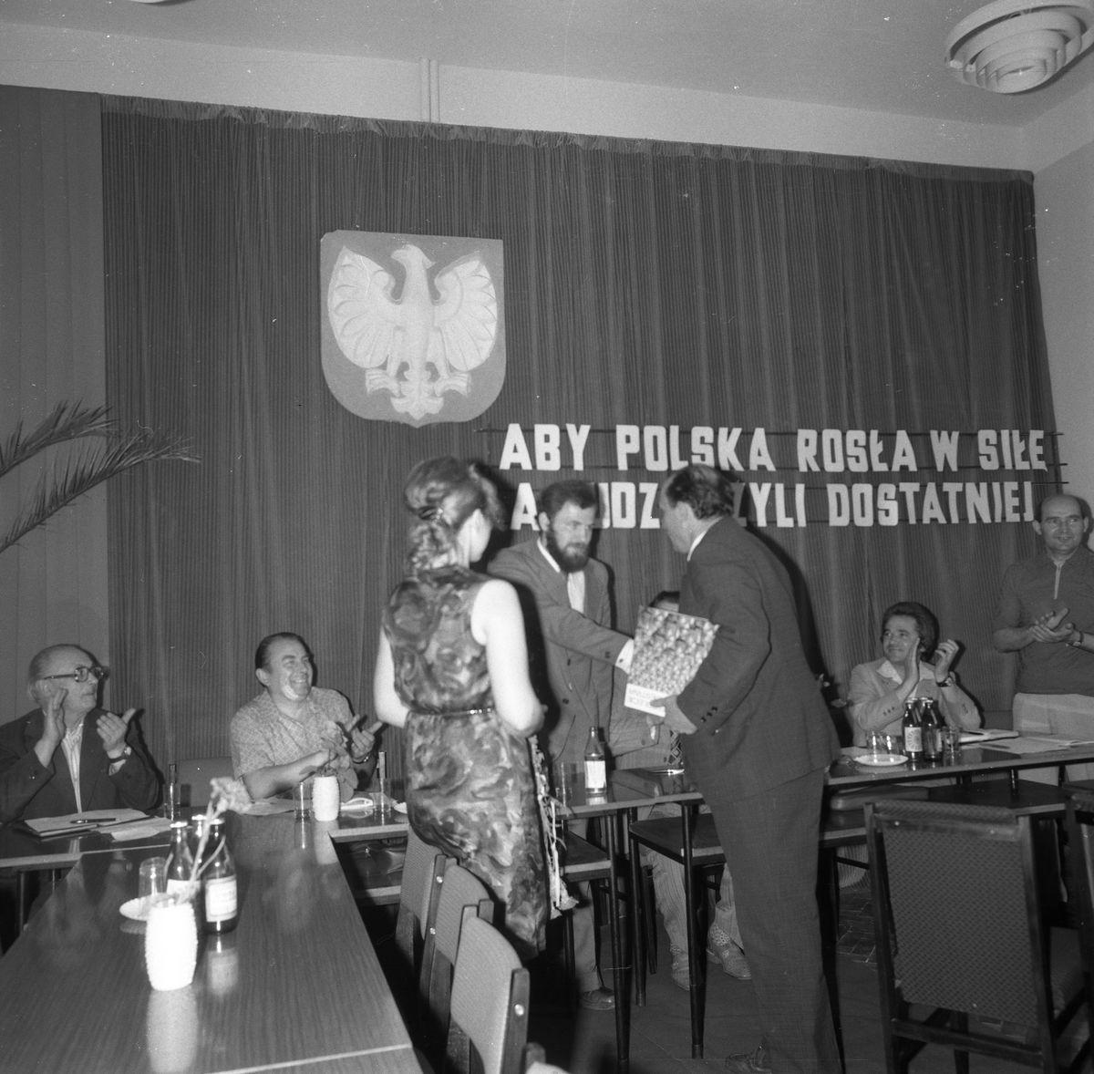 Uroczysta Sesja Miejskiej Rady Narodowej, 1975 r. [7]