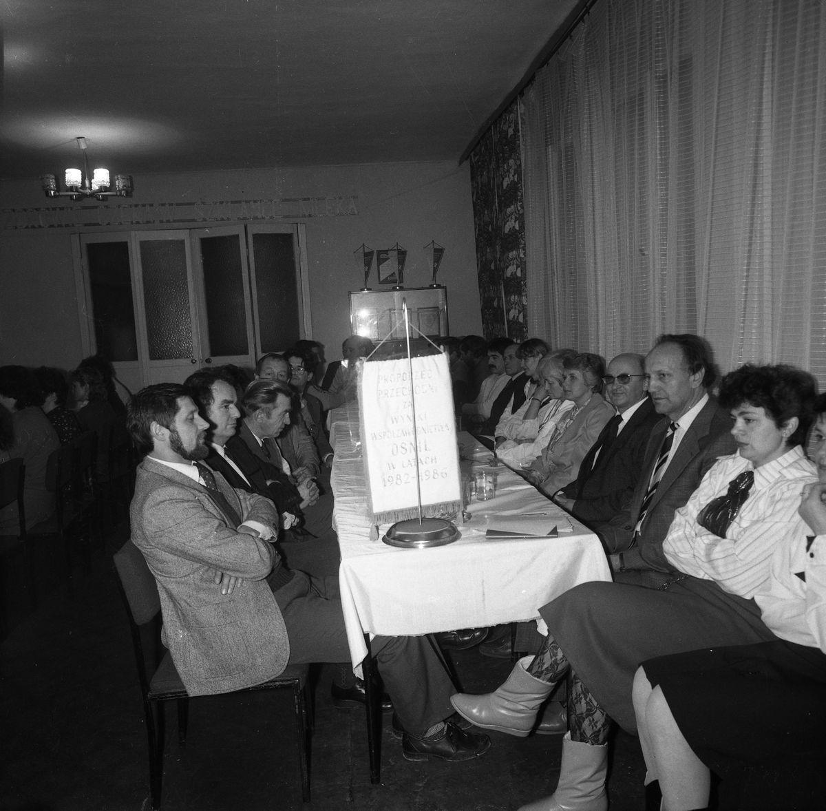 Zdobycie proporca przechodniego, 1987 r.