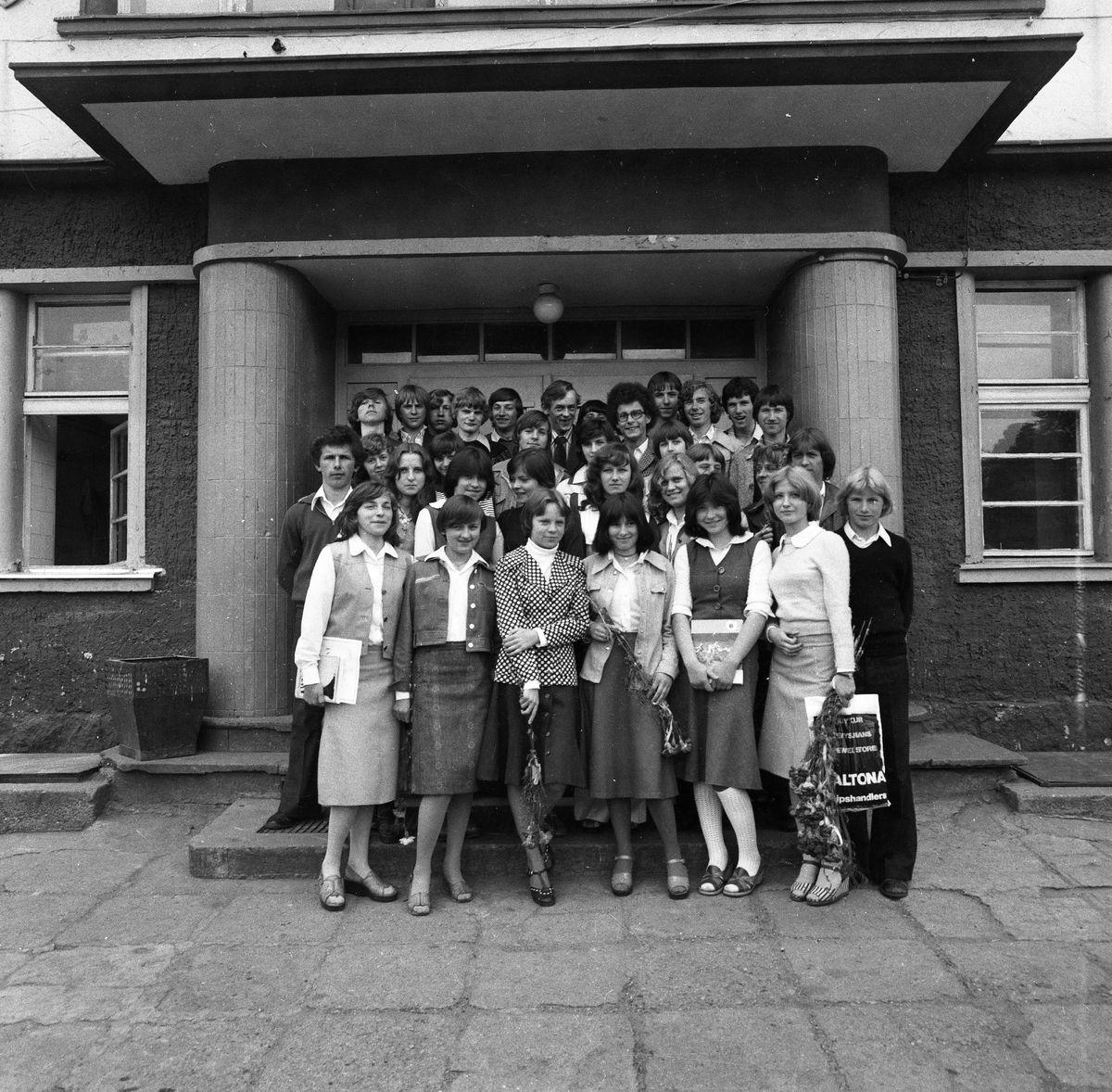 Zakończenie roku szkolnego 1976/1977 w SP1
